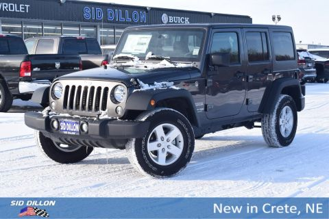 New 2018 Jeep Wrangler JK Unlimited Sport 4WD