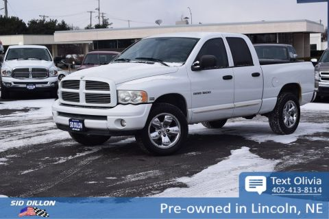 Pre-Owned 2004 Dodge 1500 SLT 4WD