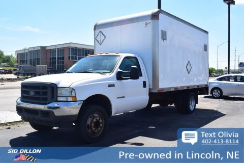 Pre-Owned 2002 Ford Super Duty F-550 DRW XL