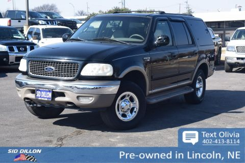 Pre-Owned 2000 Ford Expedition Eddie Bauer 4WD
