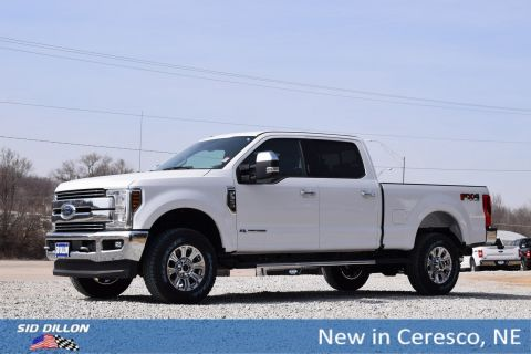 New 2018 Ford F-350 Lariat With Navigation & 4WD