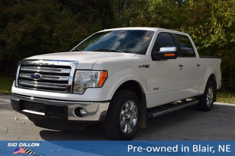 Pre-Owned 2013 Ford F-150 Lariat RWD Crew Cab