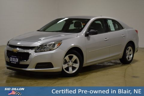 Certified Pre-Owned 2015 Chevrolet Malibu LS FWD 4 Door Sedan