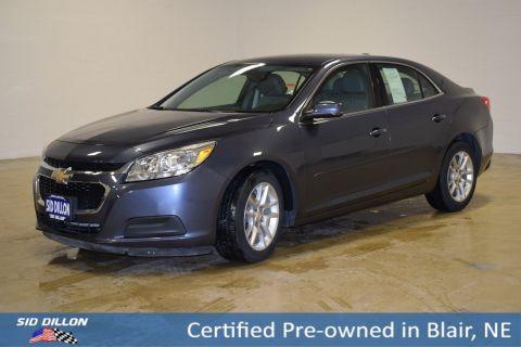 Certified Pre-Owned 2015 Chevrolet Malibu LT FWD 4 Door Sedan