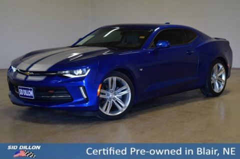 Certified Pre-Owned 2016 Chevrolet Camaro 2LT