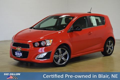 Certified Pre-Owned 2016 Chevrolet Sonic RS