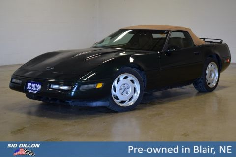 Pre-Owned 1991 Chevrolet Corvette 2DR CONV