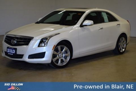 Pre-Owned 2014 Cadillac ATS Luxury AWD