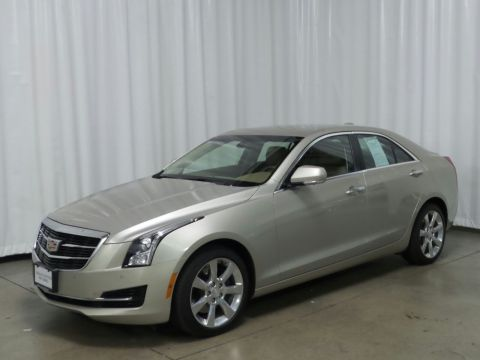 Certified Pre-Owned 2015 Cadillac ATS Luxury AWD
