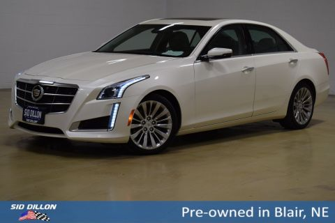 Pre-Owned 2014 Cadillac CTS Luxury AWD