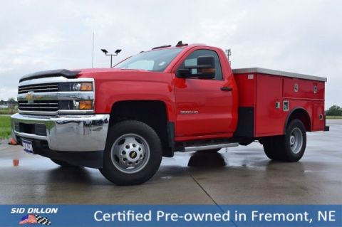Certified Pre-Owned 2016 Chevrolet Silverado 3500HD Work Truck