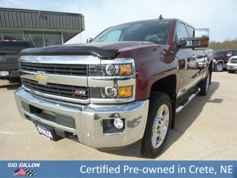 Certified Pre-Owned 2016 Chevrolet Silverado 2500HD LTZ