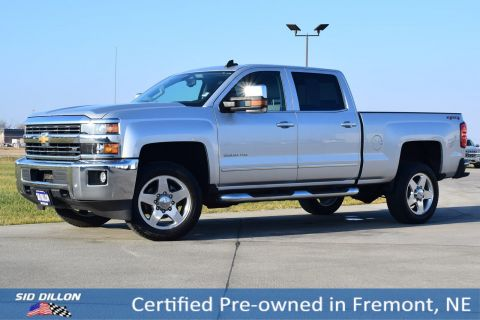 Certified Pre-Owned 2015 Chevrolet Silverado 2500HD LTZ