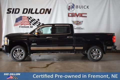 Certified Pre-Owned 2018 Chevrolet Silverado 2500HD High Country