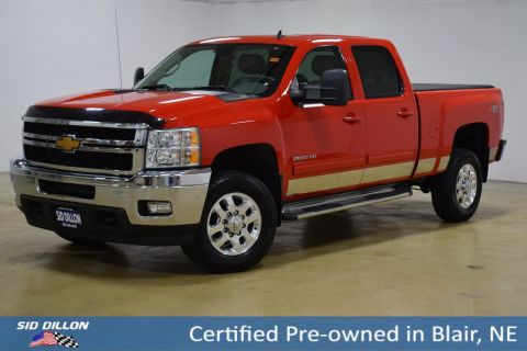 Certified Pre-Owned 2014 Chevrolet Silverado 2500HD LTZ