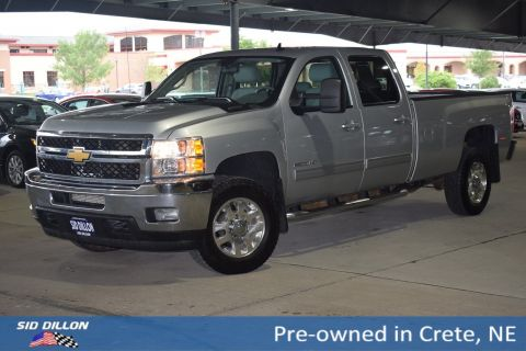 Pre-Owned 2013 Chevrolet Silverado 2500HD LTZ