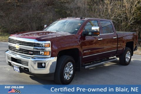 Certified Pre-Owned 2016 Chevrolet Silverado 3500HD LTZ 4WD