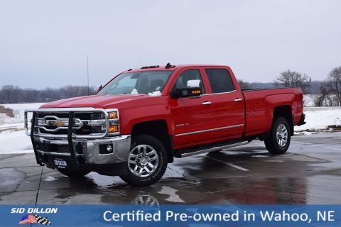 Certified Pre-Owned 2016 Chevrolet Silverado 3500HD LTZ
