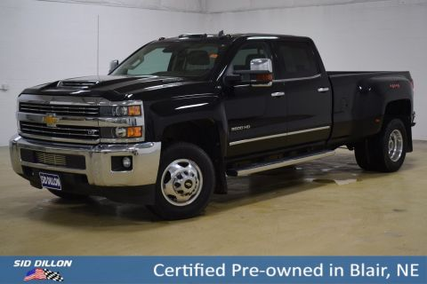 Certified Pre-Owned 2018 Chevrolet Silverado 3500HD LTZ
