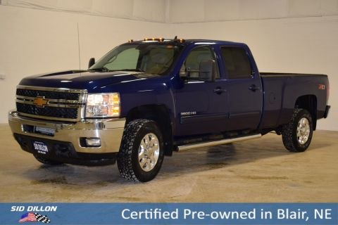 Certified Pre-Owned 2014 Chevrolet Silverado 3500HD LTZ 4WD