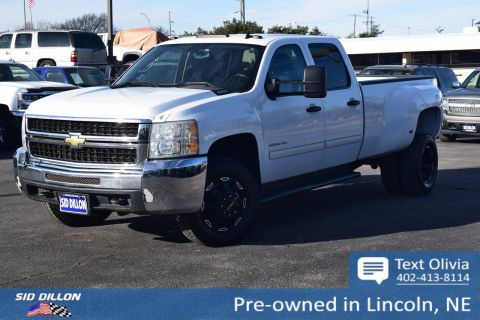 Pre-Owned 2010 Chevrolet Silverado 3500HD DRW LT