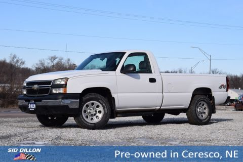 Pre-Owned 2006 Chevrolet Silverado 1500 Work Truck 4WD