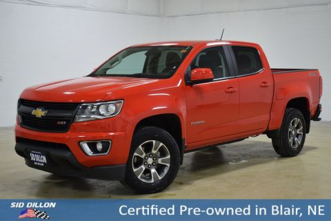 Certified Pre-Owned 2015 Chevrolet Colorado 4WD Z71