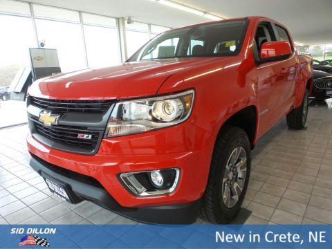 New 2018 Chevrolet Colorado 4WD Z71