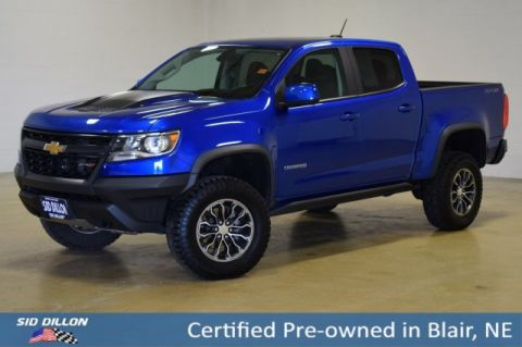 Certified Pre-Owned 2018 Chevrolet Colorado 4WD ZR2