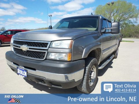 Pre-Owned 2006 Chevrolet Silverado 2500HD LT1 4WD
