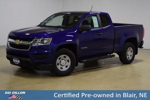 Certified Pre-Owned 2017 Chevrolet Colorado 2WD WT