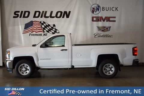 Certified Pre-Owned 2016 Chevrolet Silverado 1500 Work Truck