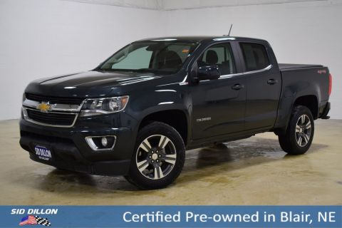 Certified Pre-Owned 2017 Chevrolet Colorado 4WD LT 4WD