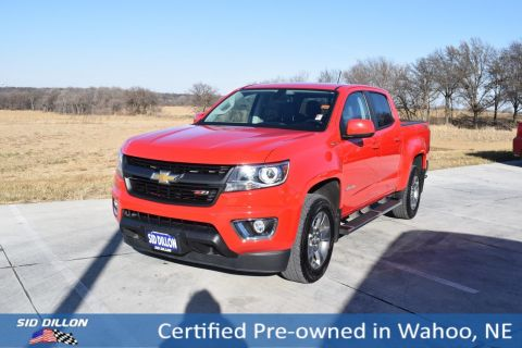 Certified Pre-Owned 2016 Chevrolet Colorado 4WD Z71 4WD