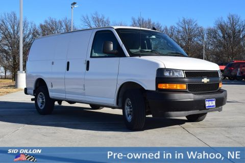 Pre-Owned 2018 Chevrolet Express Cargo Van 2500 RWD 135