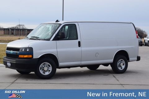 New 2018 Chevrolet Express Cargo Van