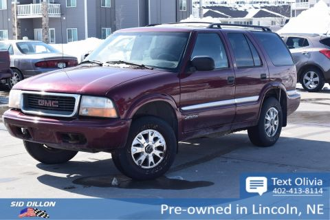 Pre-Owned 2000 GMC Jimmy SL w/1SX