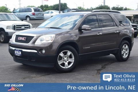 Pre-Owned 2008 GMC Acadia SLT1 FWD SUV