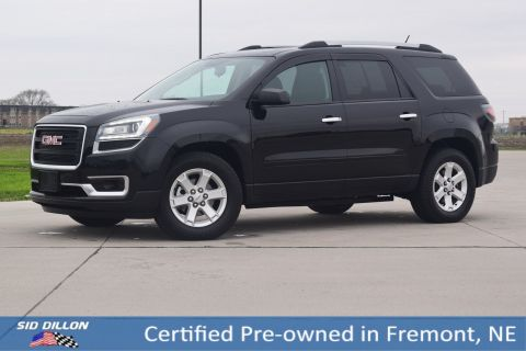 Certified Pre-Owned 2016 GMC Acadia SLE FWD SUV