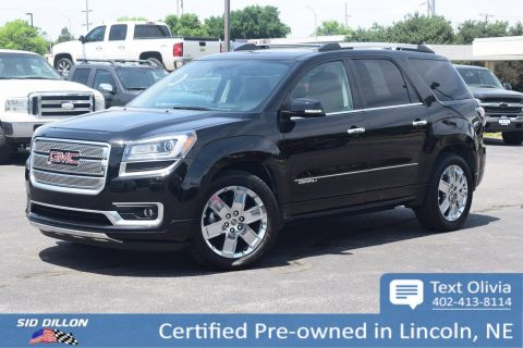 Certified Pre-Owned 2016 GMC Acadia Denali FWD SUV