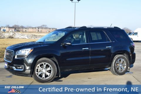 Certified Pre-Owned 2014 GMC Acadia SLT