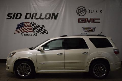 Pre-Owned 2011 GMC Acadia Denali With Navigation & AWD