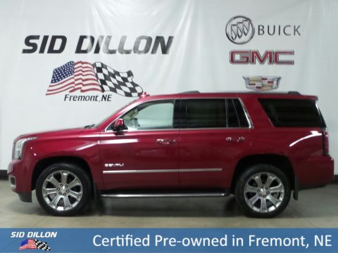Certified Pre-Owned 2015 GMC Yukon Denali With Navigation & 4WD