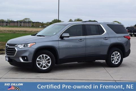 Certified Pre-Owned 2018 Chevrolet Traverse LT Cloth
