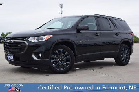 Certified Pre-Owned 2019 Chevrolet Traverse RS