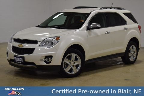 Certified Pre-Owned 2015 Chevrolet Equinox LTZ