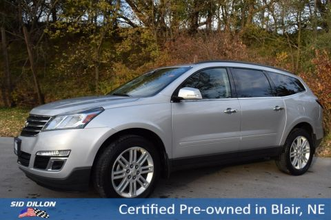 Certified Pre-Owned 2015 Chevrolet Traverse LT FWD SUV