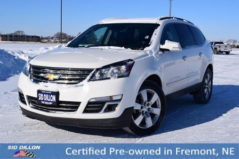 Certified Pre-Owned 2014 Chevrolet Traverse LTZ AWD