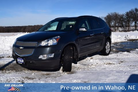 Pre-Owned 2011 Chevrolet Traverse LTZ With Navigation & AWD
