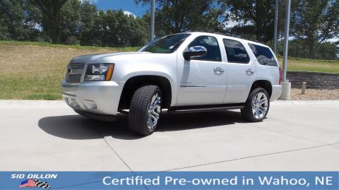 Certified Pre-Owned 2014 Chevrolet Tahoe LTZ With Navigation & 4WD
